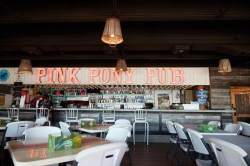 Inside the Pink Pony